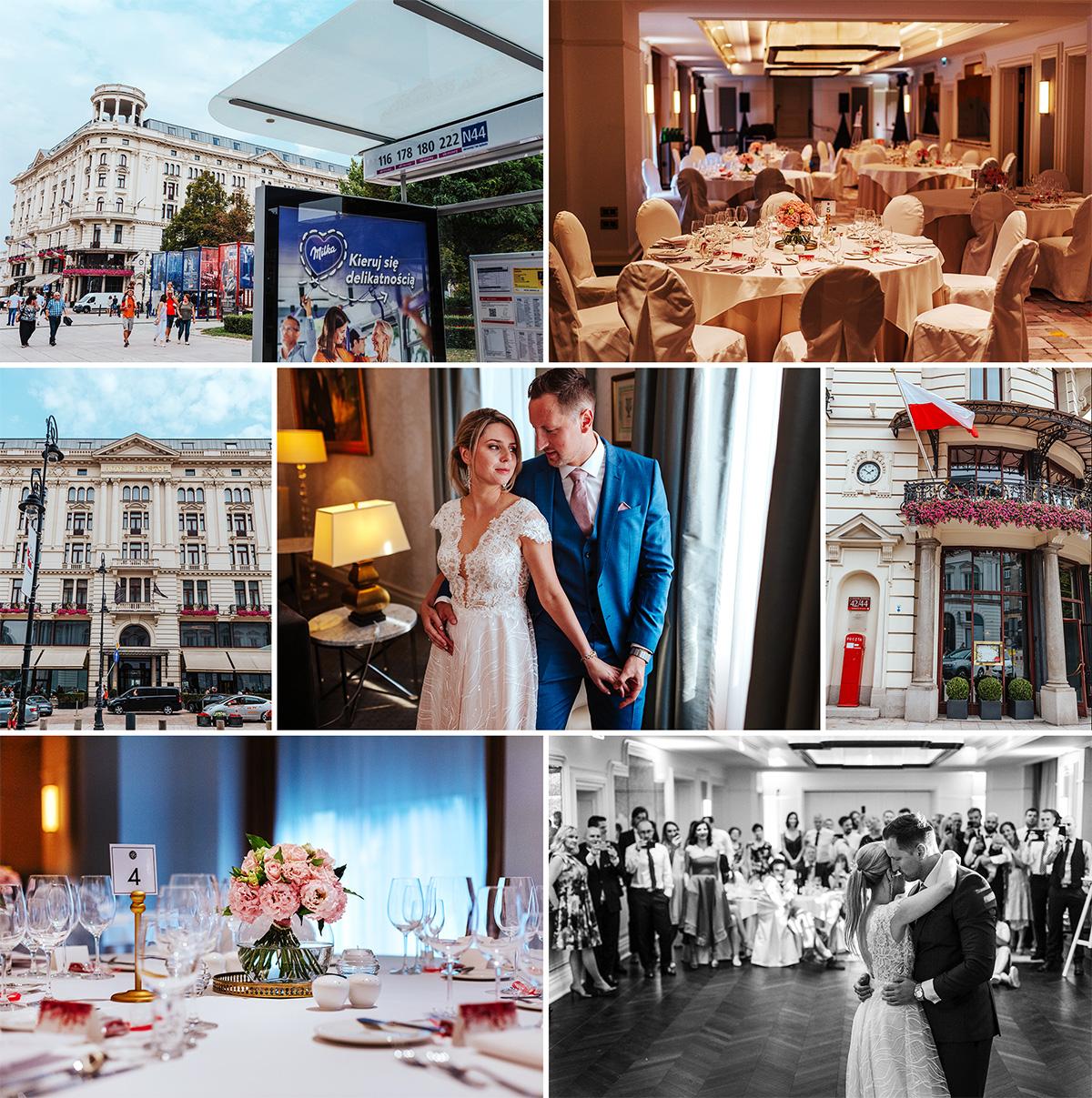 Najpiękniejsze miejsce na wesele w Warszawie na Krakowskim PRzedmieściu - Hotel Bristol