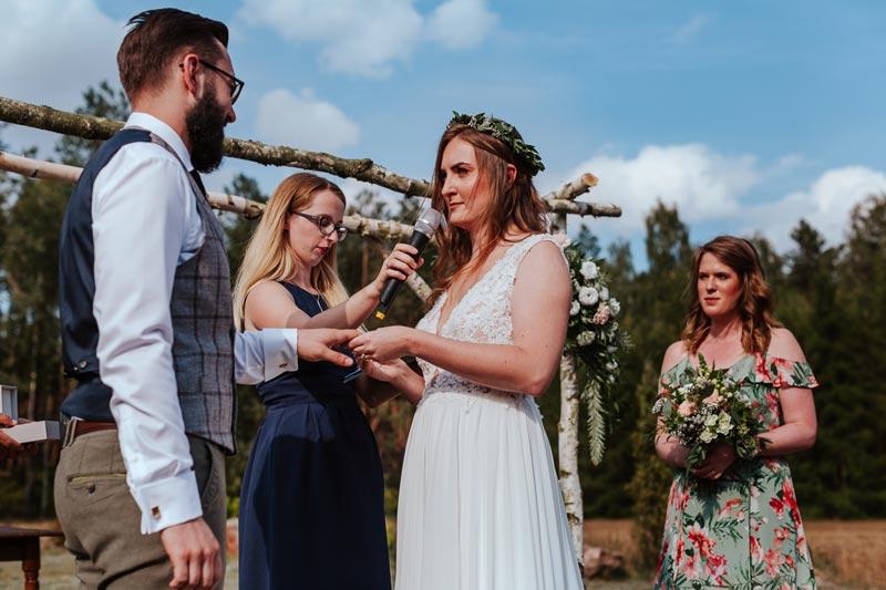 Ślub humanistyczny w Uroczysku Zaborek na Podlasiu