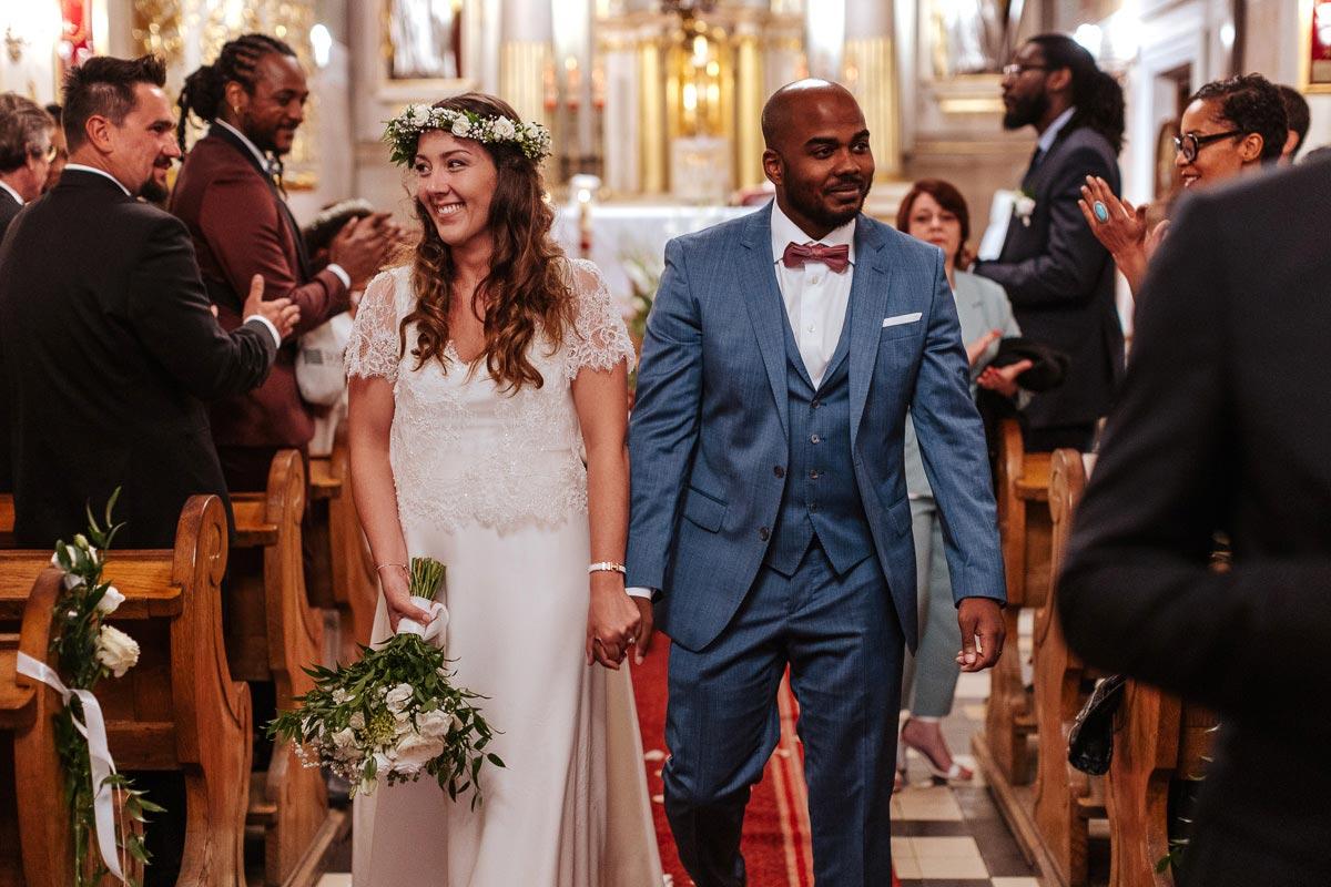 Ceremonia ślubna w kościele w Belsku Dużym pod Warszawą