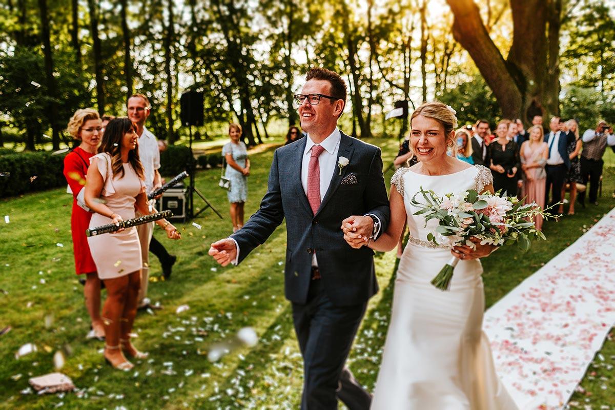 Ślub polsko-irlandzki w Pałacu Zdunowo
