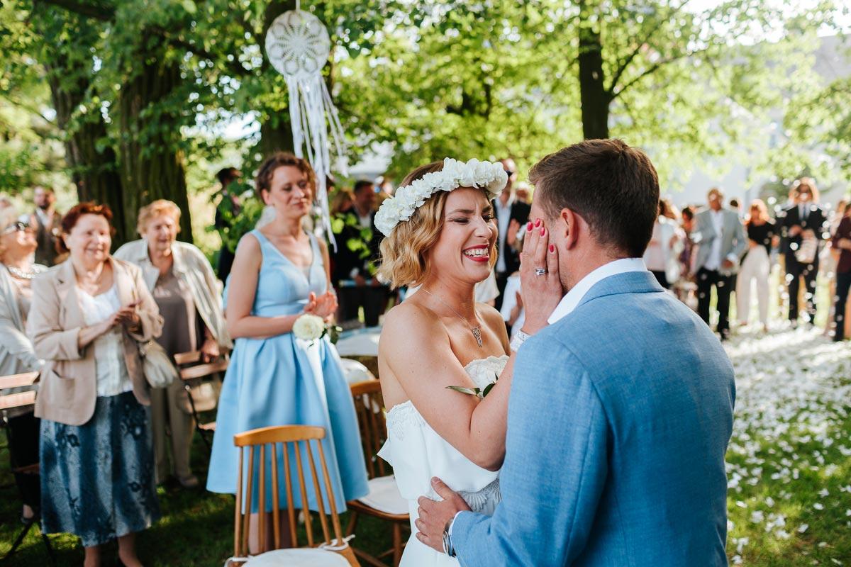 Ślub w Osadzie Młyńskiej - Zdjęcia fotograf ślubnego z Warszawy