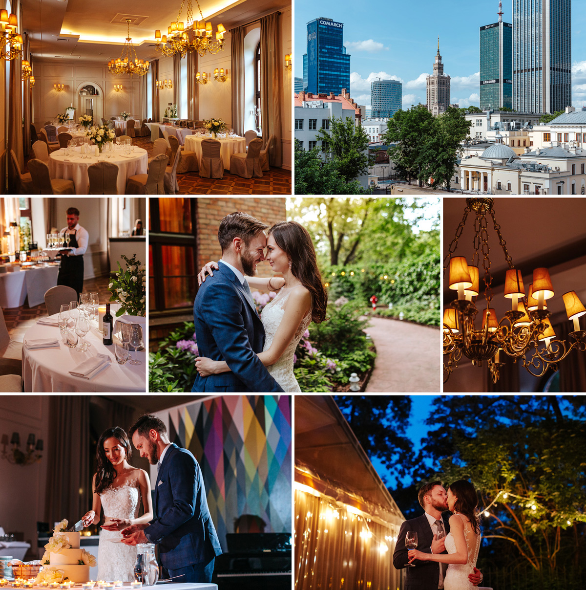 Restauracja Klub Bankowca to jedno z najbardziej klimatycznych i najpiękniejszych miejsc na wesele w Warszawie