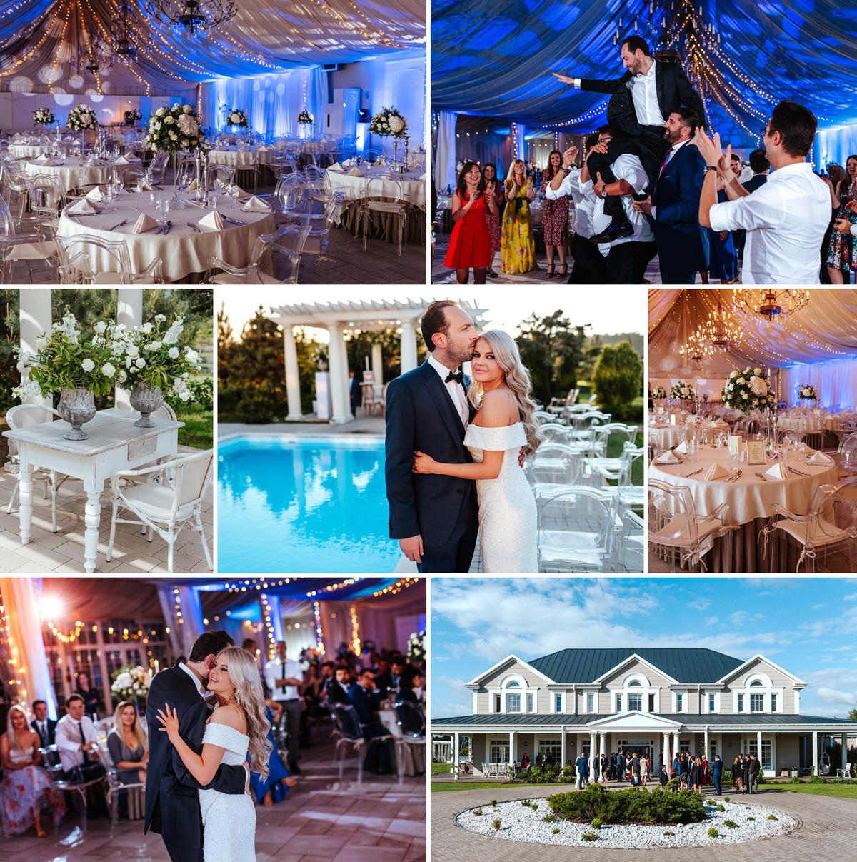 Miętowe Wzgórza - obiekt w stylu amerykańskim, w którym zorganizujesz swoje wesele pod Warszawą