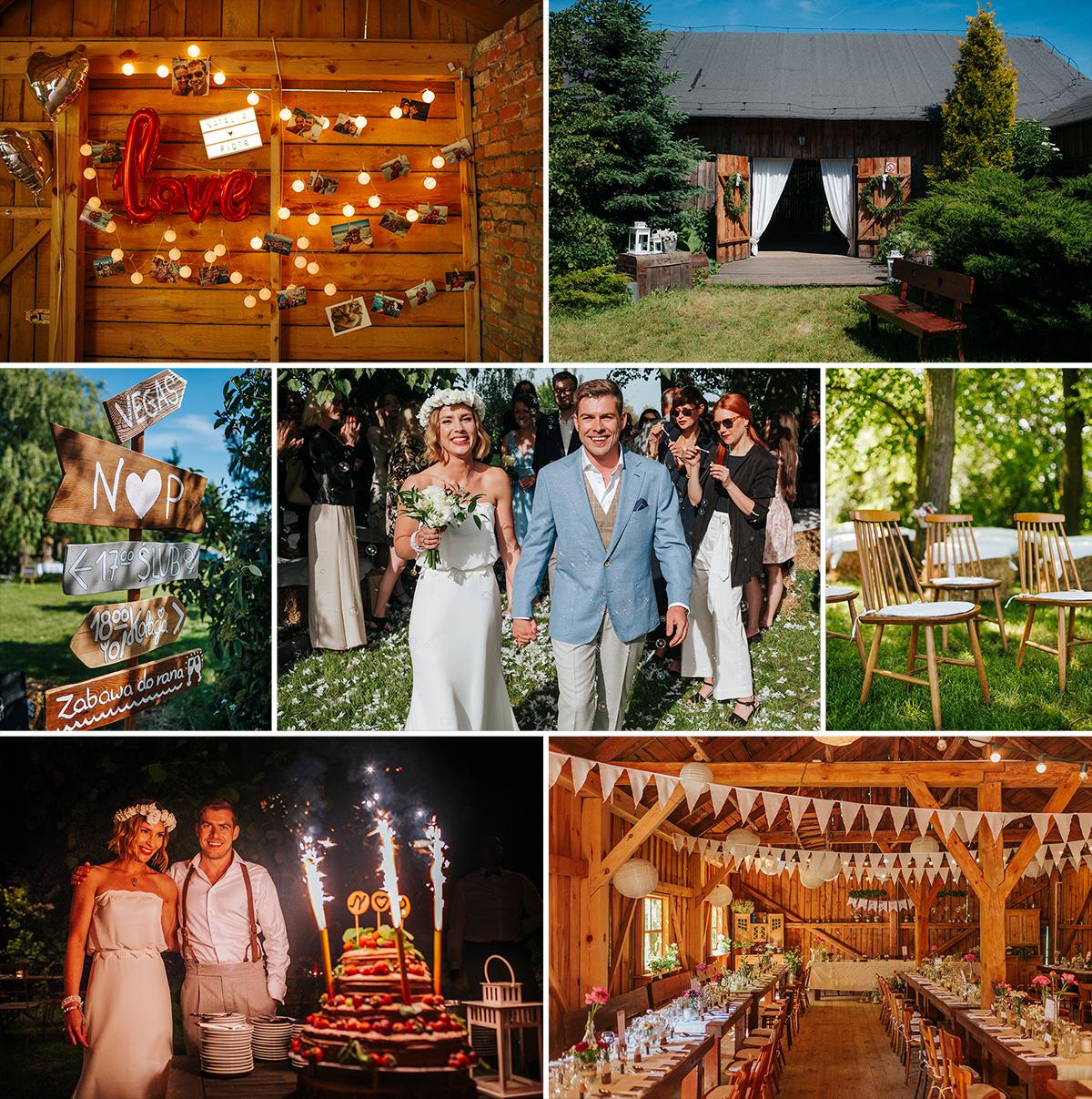 Jeśli szukasz klimatycznej stodoły to jest to zdecydowanie najpiękniejsza stodoła na wesele w okolicach Warszawy